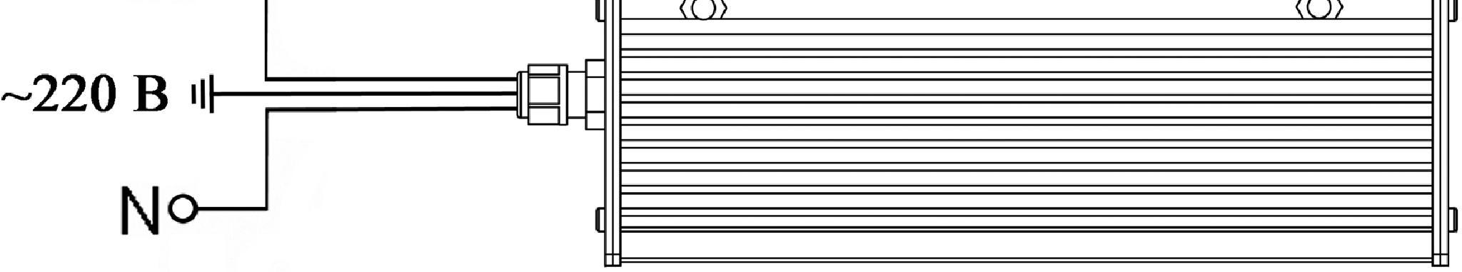 Схема подключения ЭПРА600 низ