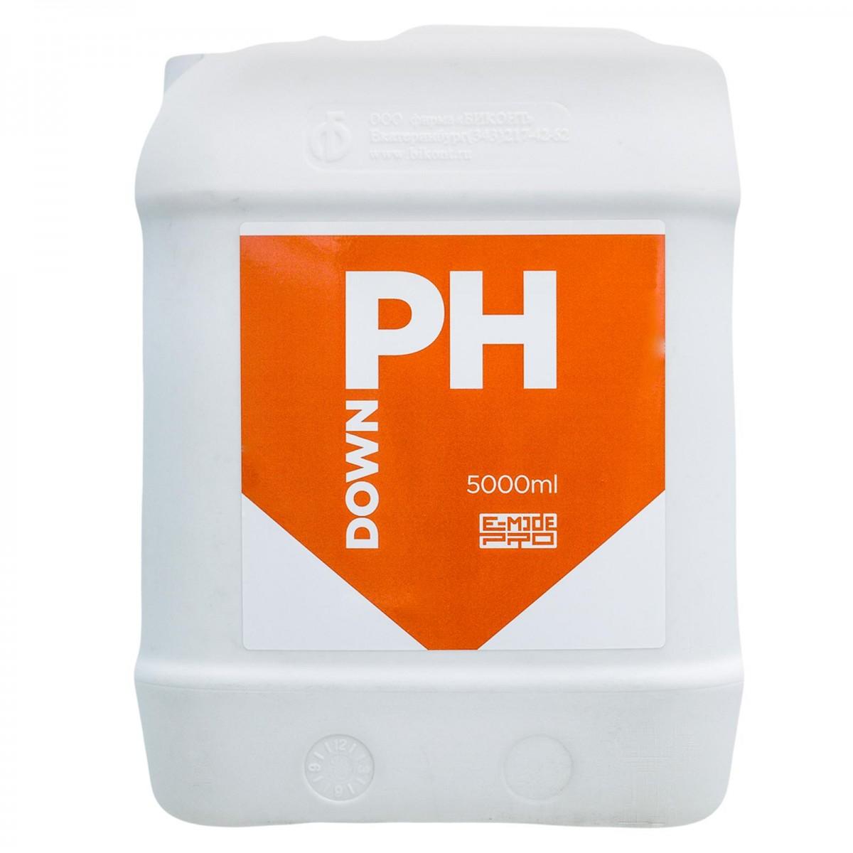 Регулятор pH Down E-mode 5 л